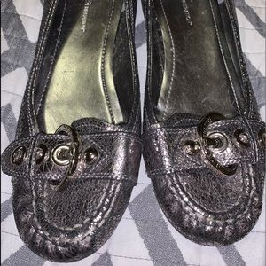 Metallic color loafers BCBGeneration brand